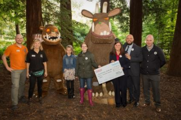 Families enjoy a wonderful day at the launch of the Gruffalo Trail at Queenswood