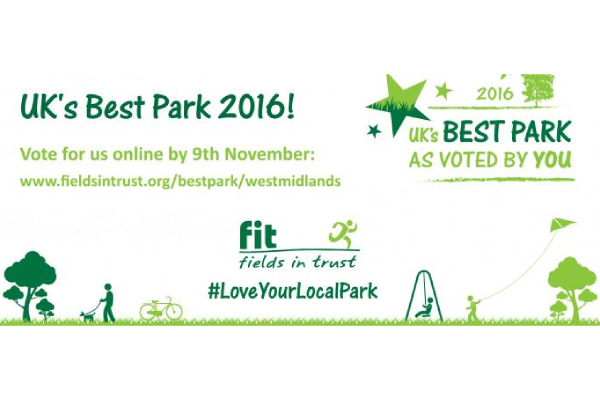 Queenswood Country Park nominated for Fields in Trust UK's Best Park Award