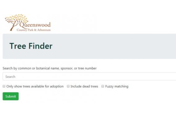 New Tree Finder database launched!